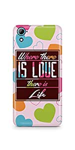 Casenation There Is Life HTC 826 Glossy Case
