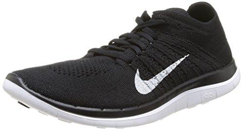 Nike - Free Run 4 Flyknit - Baskets - Noir