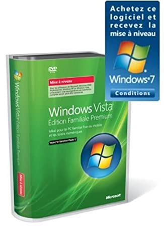 Microsoft Windows Vista Home Premium - Upgrade package - 1 PC - DVD - French
