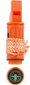 SE CCH5-1 5-in-1 Survival Whistle, Orange