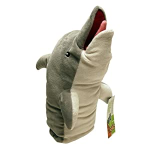 Factory Entertainment Archer Pam's Dolphin Puppet Plush from Factory Entertainment