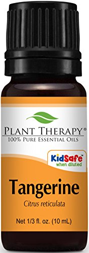 Tangerine Essential Oil KidSafe, Pure, Undiluted- 10 ml
