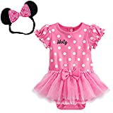 Minnie Mouse Pink Disney Cuddly Bodysuit Costume for Baby 18-24 M