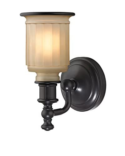 Artistic Lighting Acadia Collection 1-Light LED Sconce, Oil Rubbed Bronze