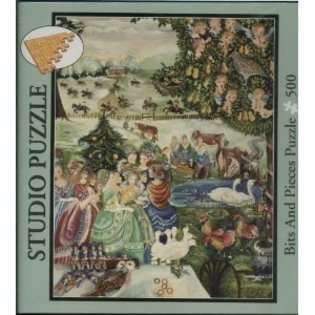 Studio Puzzle the Twelve Day of Christmas - 500 Piece Jigsaw Puzzle