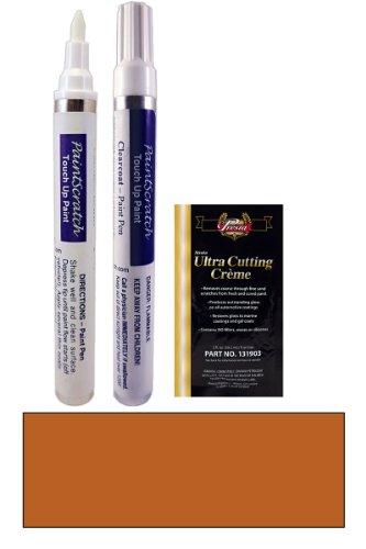 2011 Kia Borrego Electric Orange Metallic O9 Touch Up Paint Pen Kit - Original Factory Oem Automotive Paint - Color Match Guaranteed