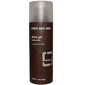 Every Man Jack Sensitive Skin Shave Gel-7 oz