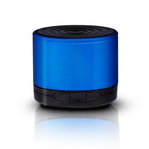 Photive Audio Ph-Bt600 Wireless Portable Bluetooth Speaker With Steel Alloy Housing And 6 Hour Battery. Latest Bluetooth V3.0 Technology - Blue