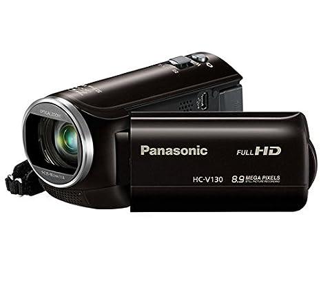 """Panasonic V130 Caméscope numérique Ecran 3"""" 2,12 Mpix Zoom optique 38x"""