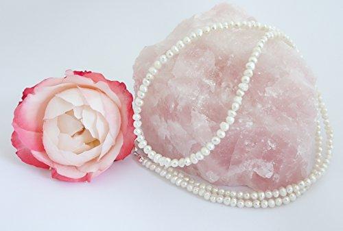 """'Occhiali Band/occhiali collana in perle coltivate acqua dolce """"bianco BZ-1015"""