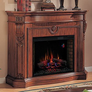 Florence Electric Fireplace in Cherry Finish photo B004AYYZ58.jpg