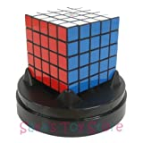 Eastsheen Black 5x5x5 Magic Rubik's Cube - with plastic dome stand