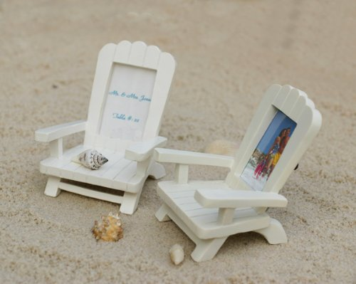 Miniature Adirondack Chair Place Card/Photo Frame Set of 4