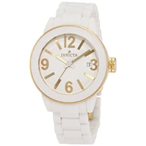 Invicta Women's 1161 Ceramics Collection Round Watch