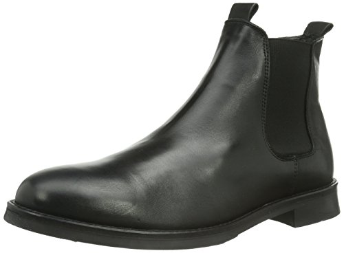 SELECTED Sel Marc NOOS ID, Stivaletti Beatles Uomo, Nero (Schwarz (Black), 43