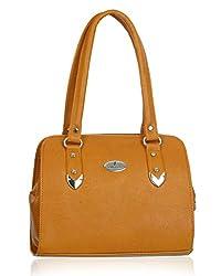 Fantosy Women's Handbag (Light tan) (FNB-533)