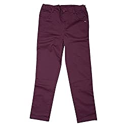 Beebay Wine Wine Casual Trouser For Girls ( Size-6 Years )