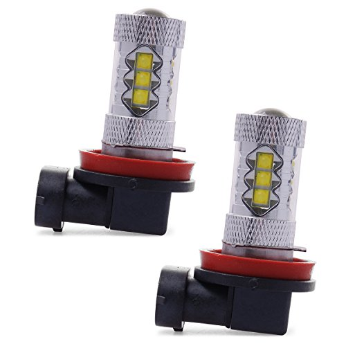 Xcsource® 2 X Super White High Power H11 80W Led Headlight Fog Driving Lights Bulb Ld314