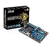Asus AM3+ M5A97 Plus Scheda Madre AMD, ATX, 4xD3 2133, USB 2.0, SATA 3, Nero
