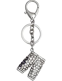 Super Drool Silver Metal Locking Keychain