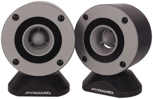 Pyramid TW28 3.75-Inch Aluminum Bullet Horn In Enclosure with Swivel Housing