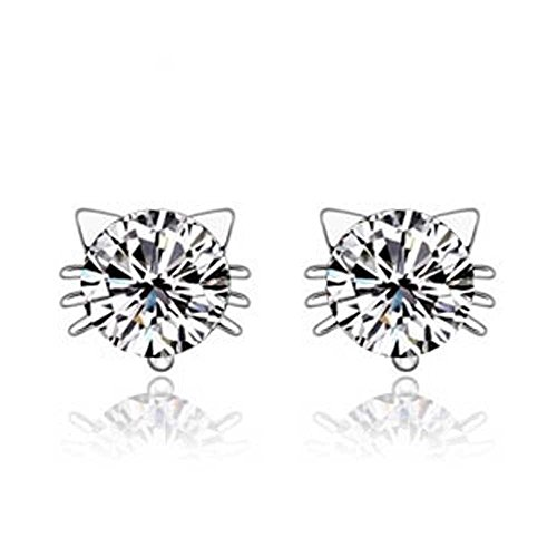 findout-ladies-sterling-silver-diamond-cat-earring-for-women-girls-f1408