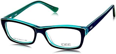 Idee Full Rim Eyewear Frame (Blue and Green ) (ID1288C4FR 50)