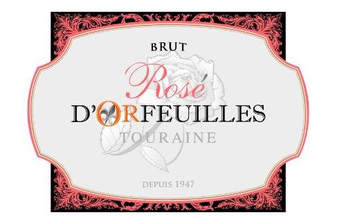 Nv Domaine D'Orfueilles Rosé Brut, Touraine 750 Ml