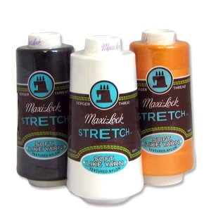 Maxi-Lock® Stretch Thread 2,000 yds - #32432 Light Grey