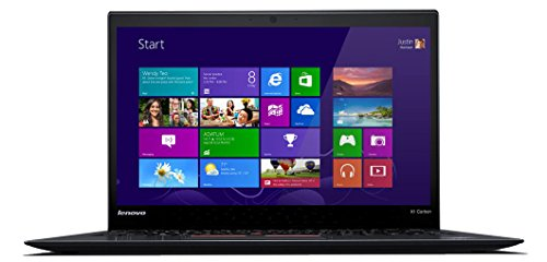 Lenovo Thinkpad X1 Carbon 20BS003BUS 14 Inch FHD Display, Intel Dual Core i7-5600U, 8GB RAM, 512GB Solid State Drive, Windows 8.1 Laptop (2015 Lenovo X1 Carbon compare prices)