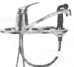 Triple Sink Faucet : ... Fiesta Triple Bowl Faucet - Touch On Kitchen Sink Faucets - Amazon.com