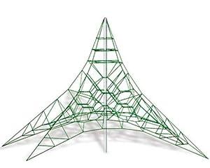 Netz-Karussell SPINNENETZ 6m - für öffentliche Spielplätze & Einrichtungen
