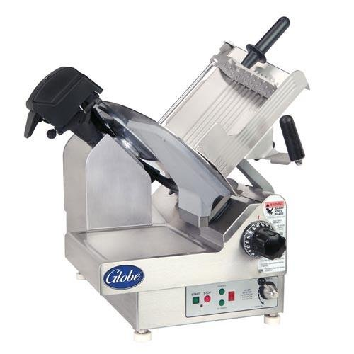 Globe Food Protech 9-Speed Slicer w/ Precise Edge Knife