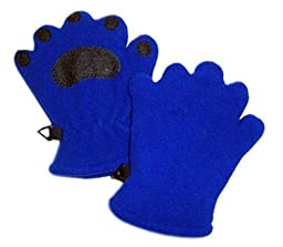 Toddler Fleece Mittens (Cobalt Blue)