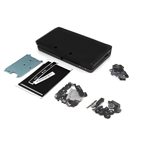 Full Shell Housing Case Replacement Parts For Nintendo 3Ds New Black front-538079