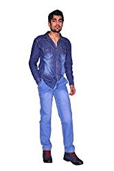 KCOY Mens Slim Fit Denim