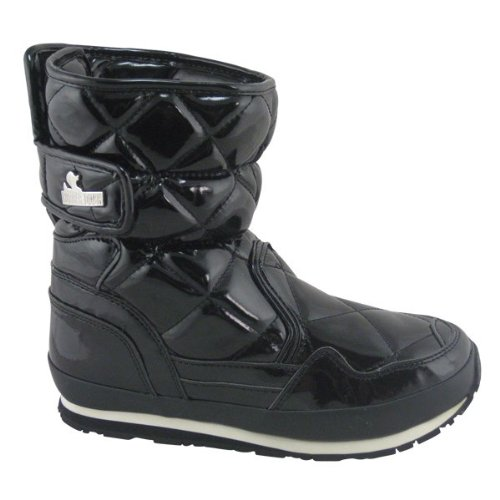 Snowjoggers Sporty Snowjogger Quilted - 5.0 UK - Black