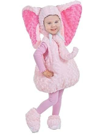 Amazon baby girls Pink Elephant Toddler Costume 2T