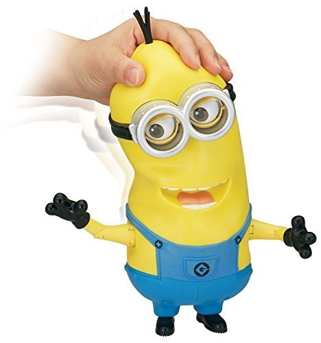 New Minions Movie Banana Eating Kevin Interactive Talking Doll Action Figure Toy