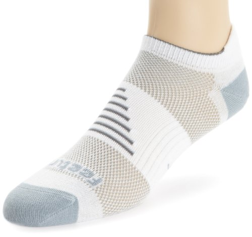 Feetures Socks Feetures Men's Ultra Light No Show Socks with Tab, Medium (Men's 6-8.5 / Women's 7-9.5), Grey
