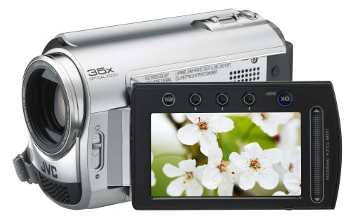 JVC Everio GZ-MG330 30 GB Hard Disk Drive Camcorder with 35x Optical Zoom (Silver)