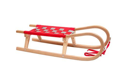 Kathrein-rodel-traneau-familles-zweisitzerrodel-rougegris-110-x-42-x-31-cm-16