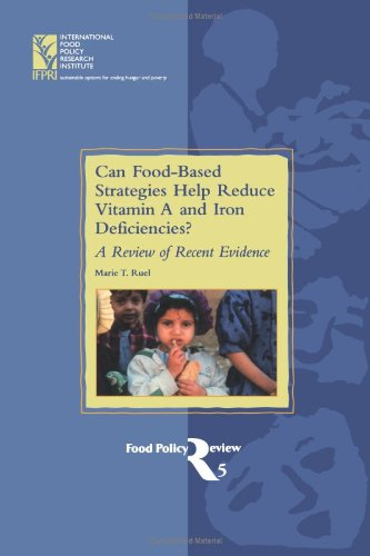 Can Food-Based Strategies Help Reduce Vitamin A And Iron Deficiencies?: A Review Of Recent Evidence (Food Policy Review, 5) front-23815
