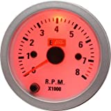 Auto Gauge Car Tachometer / R.P.M 2 Inches For Petrol 4. 6 3 Cylinders(7 Color Backlight) For Opel Corsa 20