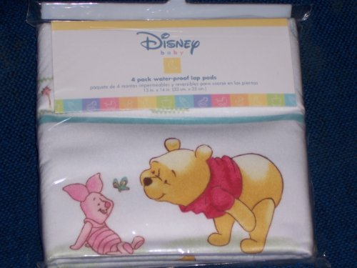 Crown Crafts Crown Crafts Disney's Winnie The Pooh Water Proof Lap Pads