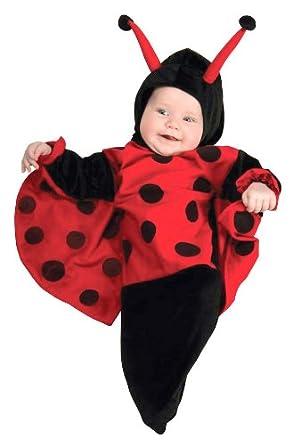Ladybug Baby Bunting