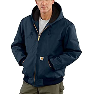 Carhartt Men's Duck Active Jacket Navy Large