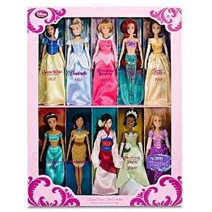Classic Disney Princess Doll Gift Set - Jasmine, Pocahontas, Rapunzel
