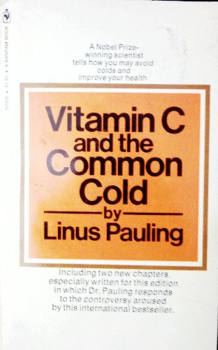 Vitamin C And The Common Cold [Import] (Paperback)
