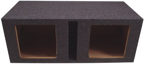 American Sound Connection Hsq215V 2 X 15-Inch Square Vented Sub Box (Dual)